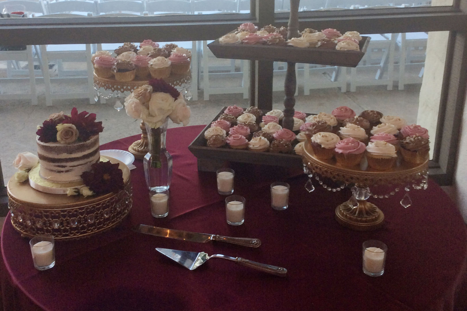 Wedding Cupcakes & Dessert Bar - Cinful Desserts