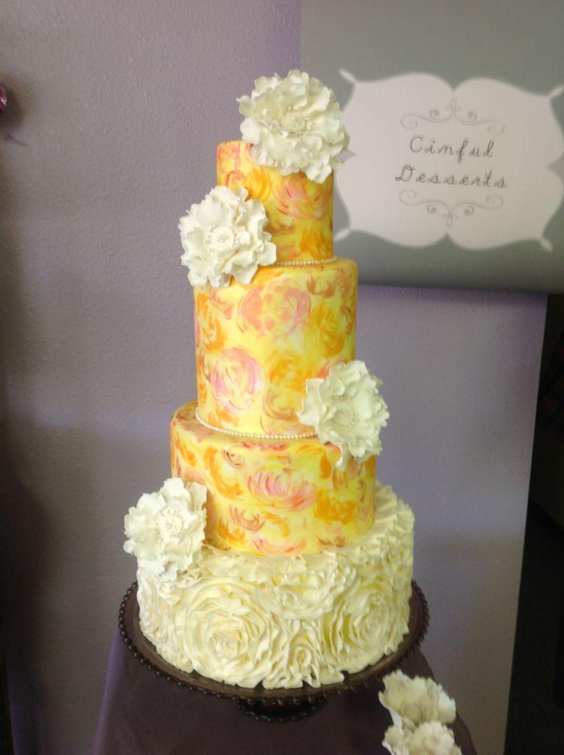 Wedding Cakes: Modern - Cinful Desserts